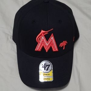 NWT Miami Marlyn's Youth hat